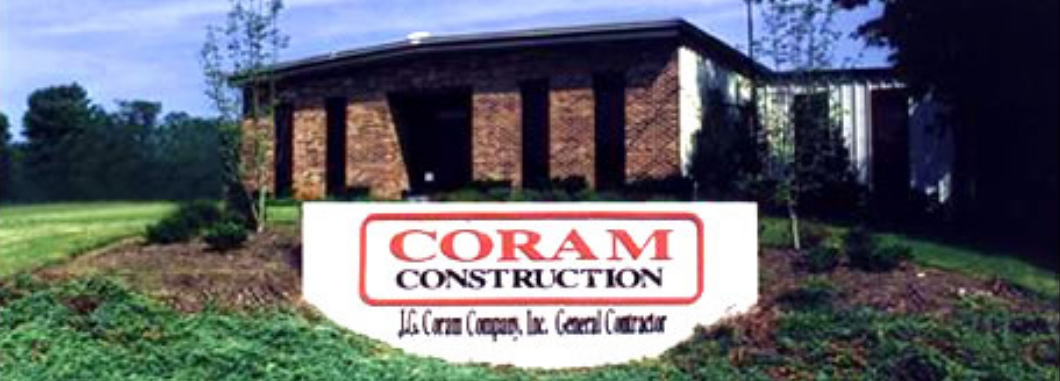 J.G. Coram Comapny, Commercial General Contractor in Mt. Airy, NC