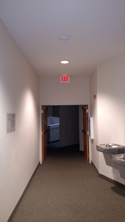 Unifi AP installed to ceiling near adult Sunday School rooms